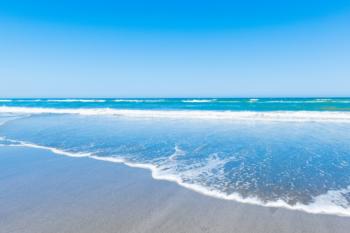 美しい海岸線が自慢のビーチ